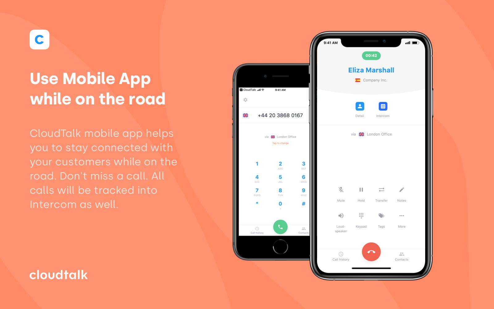 CloudTalk | App Store | Intercom