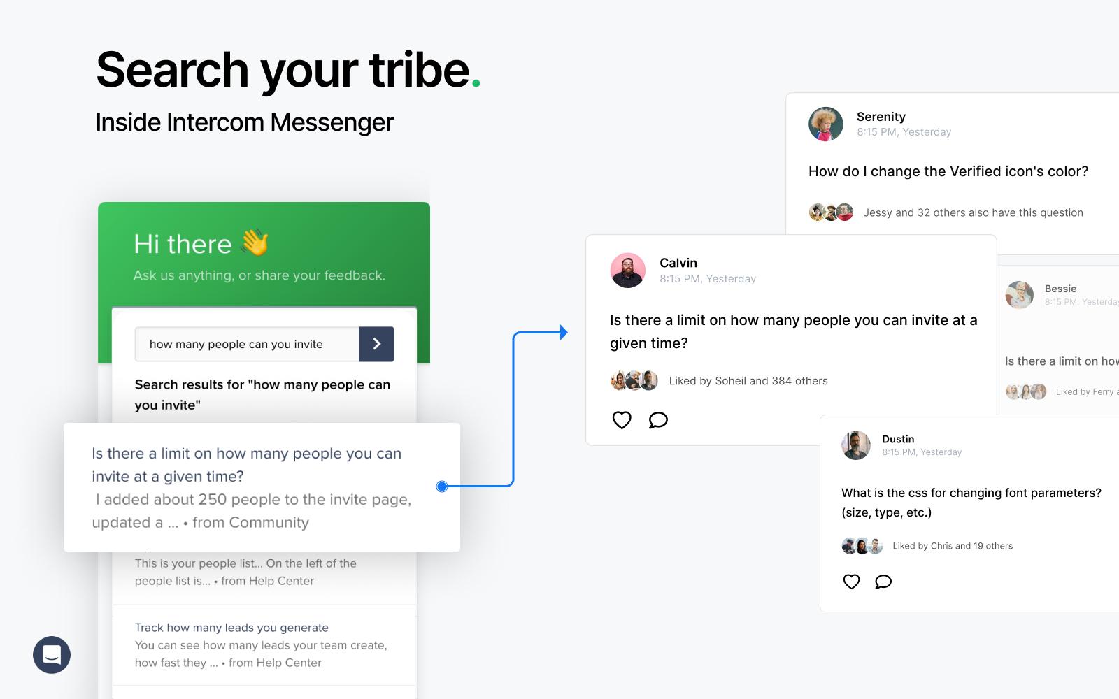 Tribe Intercom Integration